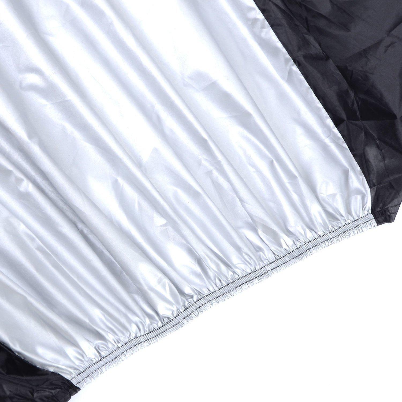 el/éctricas y bicicletas Cruiser Gofriend para 2/bicicleta cubierta impermeable doble 2/bicicleta ciclo Scooter lluvia y polvo resistente a UV Protecci/ón ideal para Mountain Road