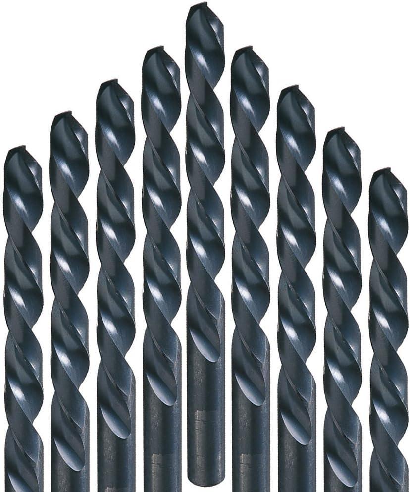 Made in the USA 12 per pack Champion Cutting Tool 705LH-9//64 Metric HSS Jobber Twist Drill Bits