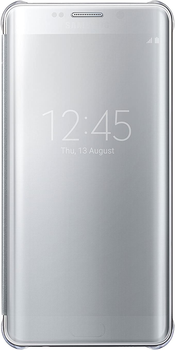 Samsung S-View Clear Flip Cover Case for Galaxy S6 Edge Plus in ...