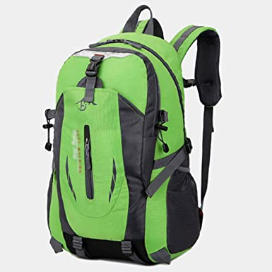 Amazon.com | Gouache 2018 Fashion School Bag Waterproof Nylon Men Backpack Bag Women Mochila Escolar Travel Bag Rucksack Trekking Bag Large Capacity Black ...