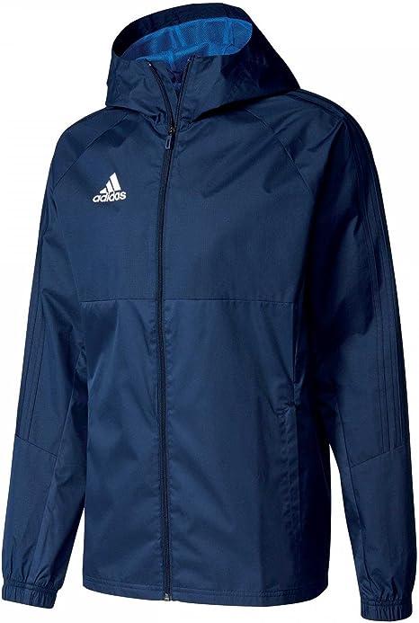 adidas Tiro17 Rain Jacket combinard Homme: : Sports