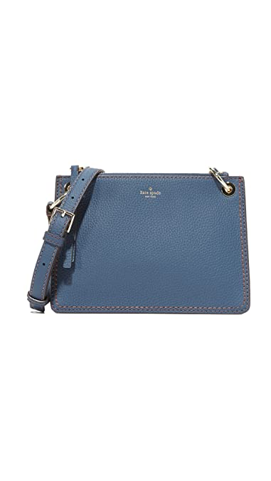 a672080e20e1 Amazon.com: Kate Spade New York Women's Dunne Lane Caro Cross Body Bag,  Azurite, One Size: Shoes