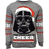 Star Wars Official Darth Vader Christmas Jumper/Ugly Sweater