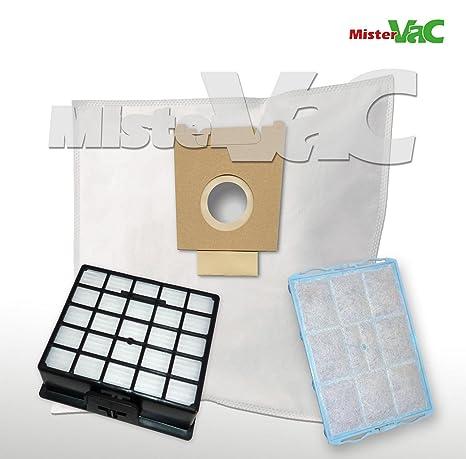 10 Sacchetto per aspirapolvere per Bosch bsg61666 BSG 61666 LOGO