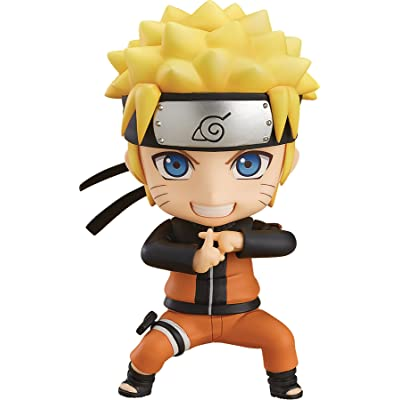 Good Smile Naruto Shippuden Naruto Uzumaki Nendoroid Action Figure: Toys & Games