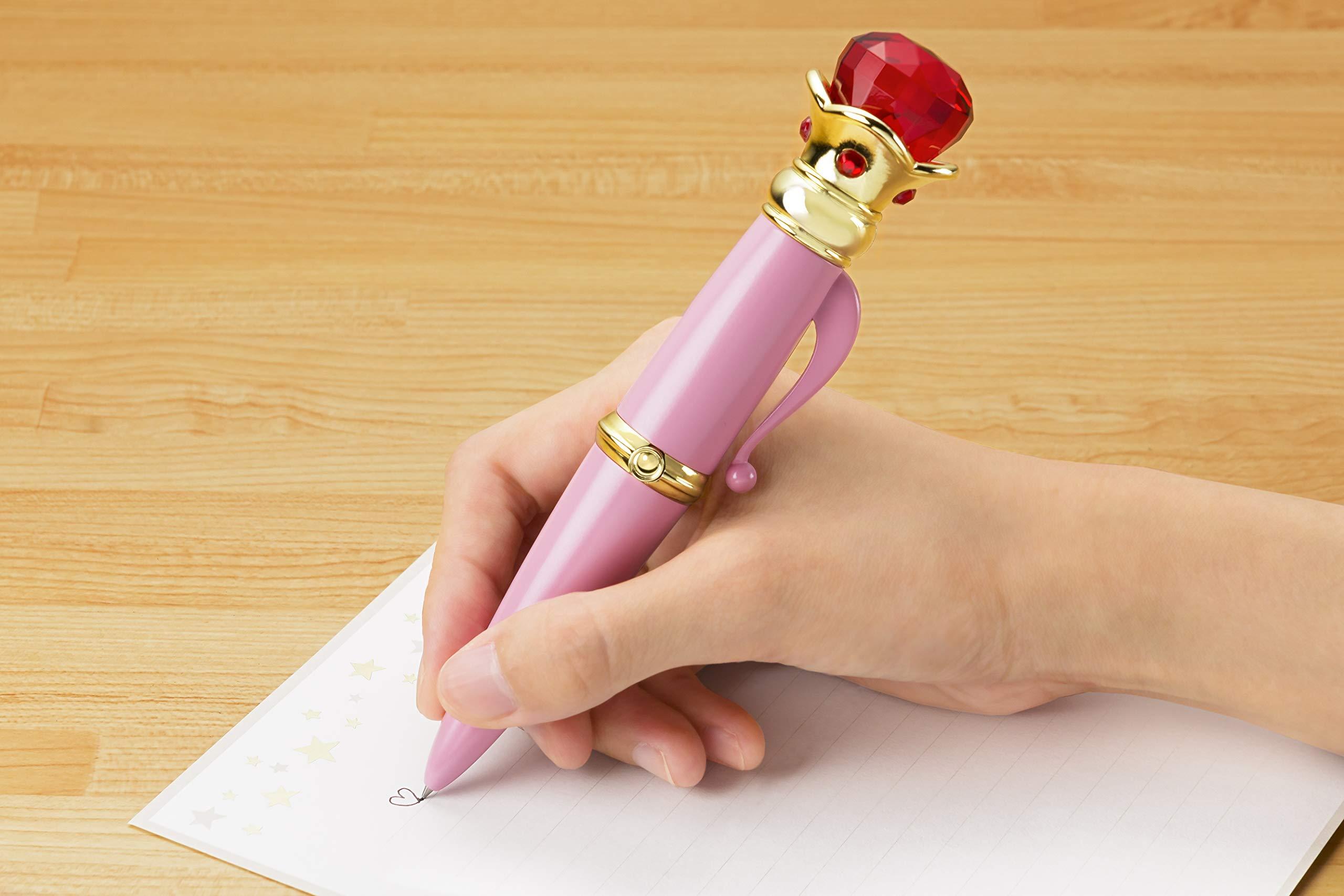 Bandai Tamashii Nations Proplica Transformation Brooch & Disguise Pen Set ''Sailor Moon'' Statue by Tamashii Nations (Image #5)
