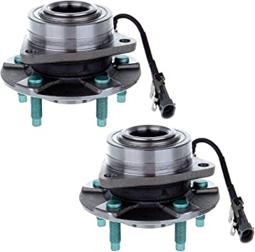 ECCPP Replacement for Wheel Hub Bearing Assembly fits Saturn Vue Chevrolet Equinox Vue 5 Lugs W//ABS 513189 2pcs