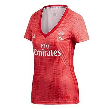 Adidas Real Madrid fútbol Third - Camiseta de Mujer: Amazon.es: Deportes y aire libre