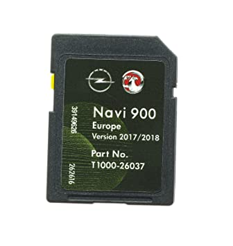 VAUXHALL OPEL CHEVROLET Navigation SD Card Map Europe 2016 - 17 West