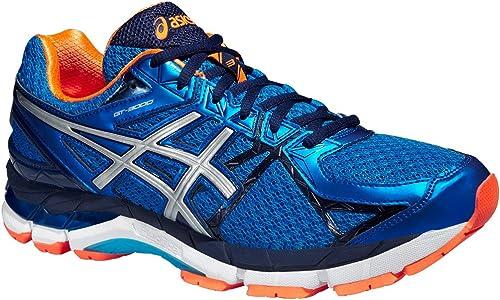 Running Shoe, Blue/Orange, UK7: Amazon