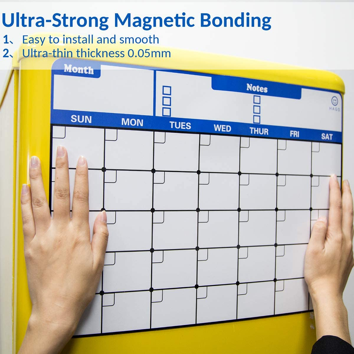 Kenco Fridge Calendar Magnetic Dry Erase Whiteboard Planners For Refrigerators Board Made In The Usa Monthly Calendar To Do List And Markers Home Décor Kolenik Home Décor Accents