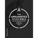 CSB Apologetics Study Bible: Black Letter, Defend Your Faith, Study Notes and Commentary, Ribbon Marker, Sewn Binding…