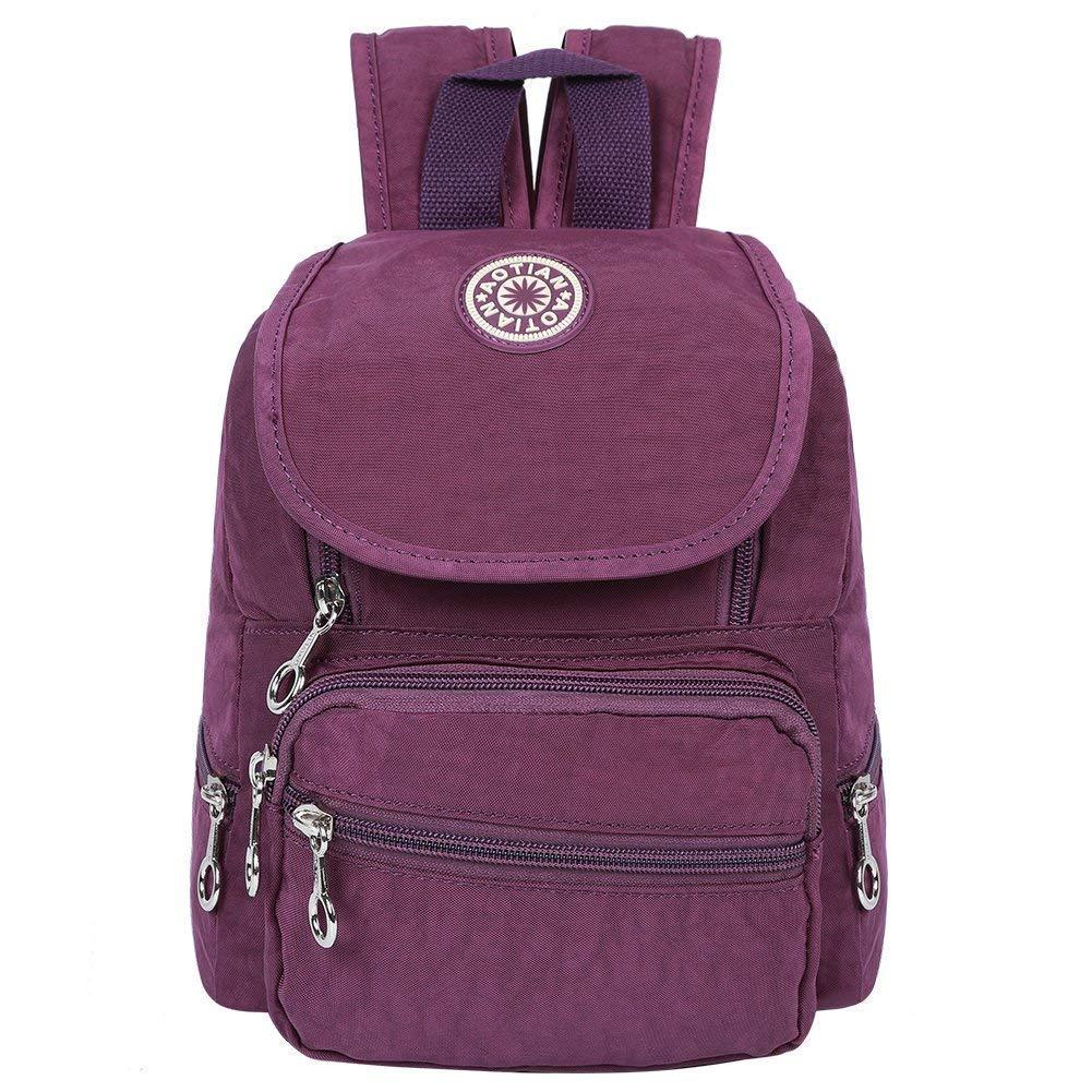 EGOGO Womens Girls Kids Backpack Mini Waterproof Nylon Daypack School Bag E530-2