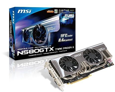 MSI V255-040R NVIDIA GeForce GTX 580 1.5GB - Tarjeta gráfica ...