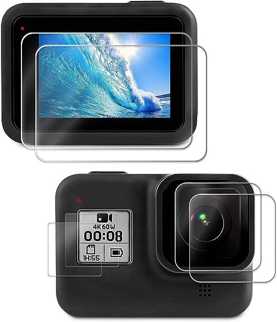 Deyard Displayschutzfolie Für Gopro Hero 8 Black Kamera