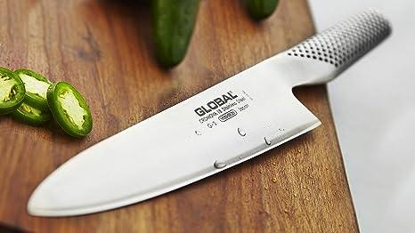 Amazon.com: Global - Juego de cuchillos (20 piezas, bloque ...