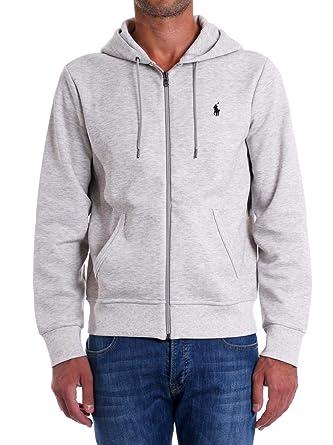 Ralph Lauren - Sweat - Sweat Capuche Gris - Taille 2XL  Amazon.fr  Vêtements  et accessoires 1a1d9f0bc25