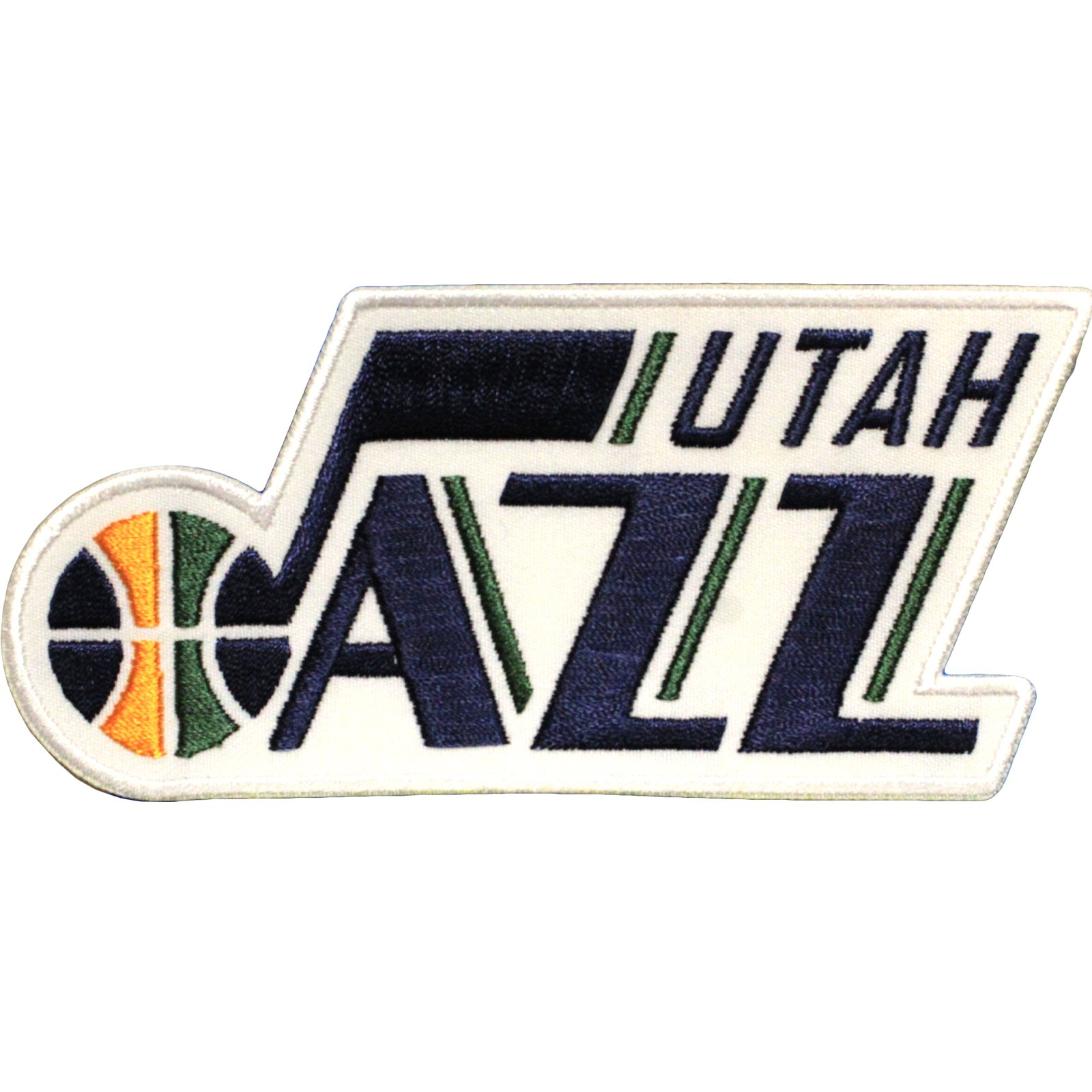 Official Utah Jazz Logo Large Sticker Iron On NBA Basketball Patch Emblem