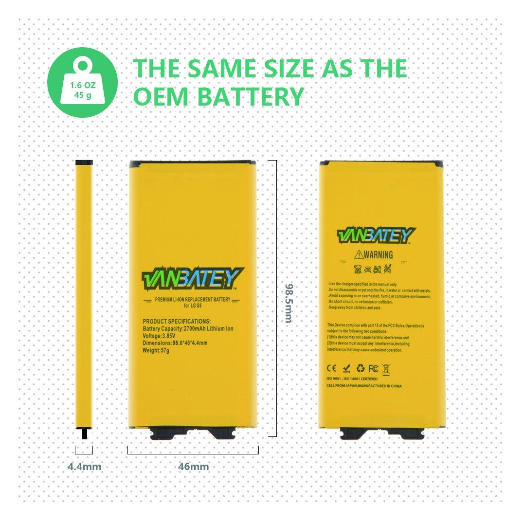 G5 G5 Batteria BL-42D1F interna ricambio 2800mAh Li-ion battery ...