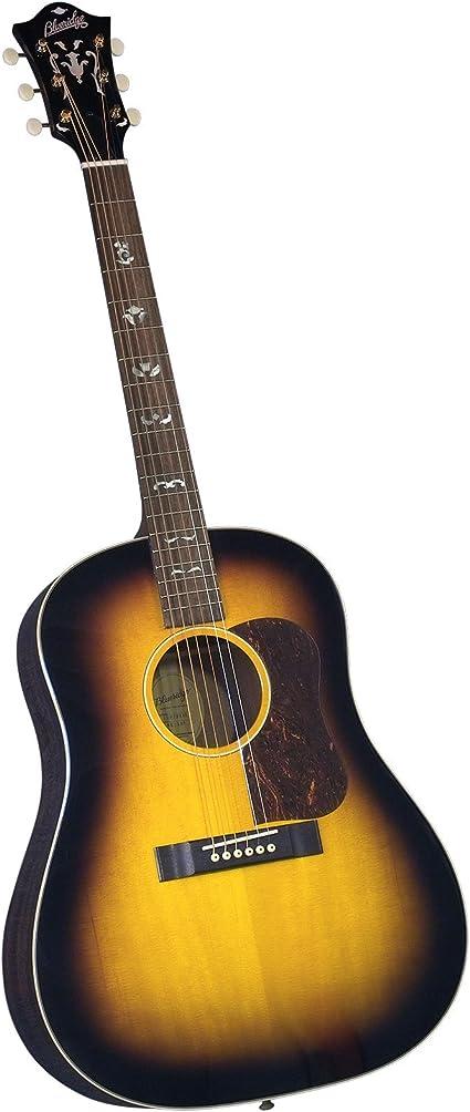 Blueridge Guitars BG-140 - Guitarra acústica con cuerdas metálicas ...