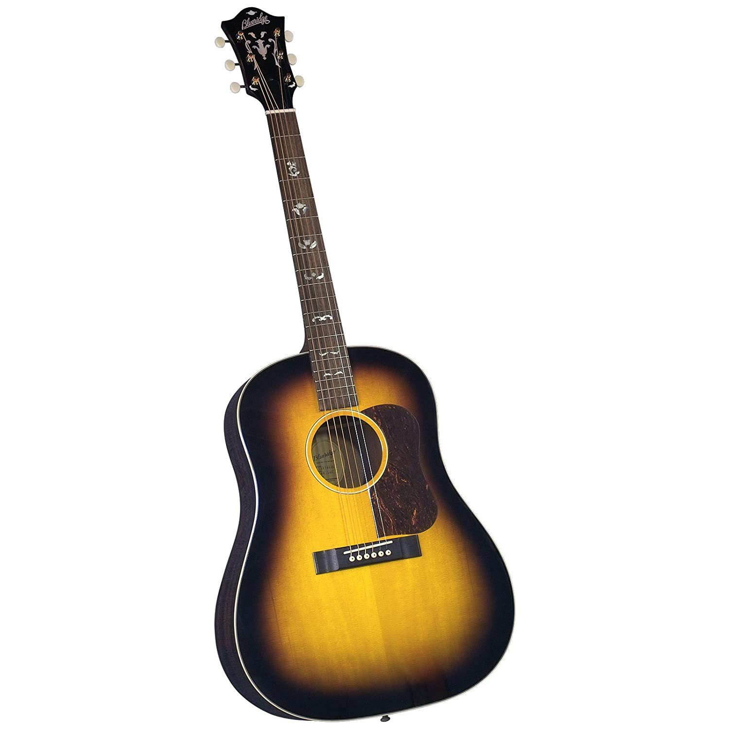 blueridge bg 140 historic series slope shoulder dreadnaught guitar