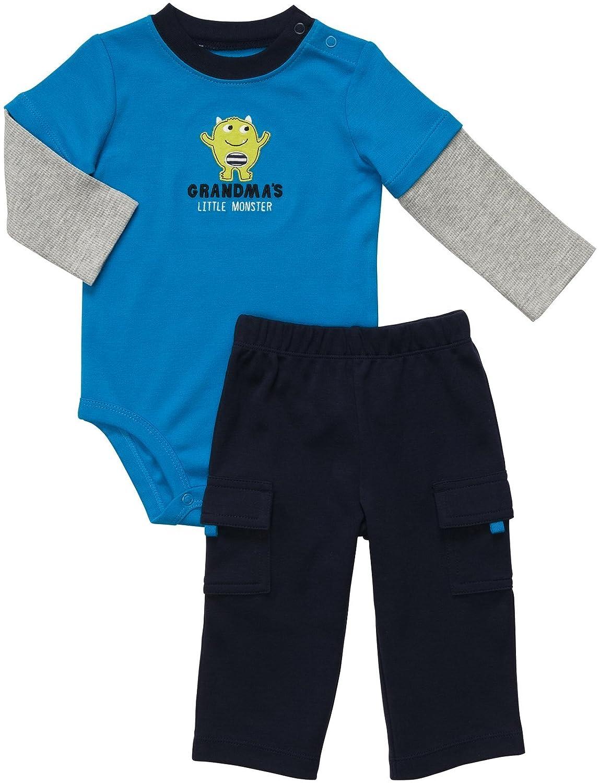 Carter's 2 teilige Kombination Body Hose Junge boy Sommer Outfit Set Carter's