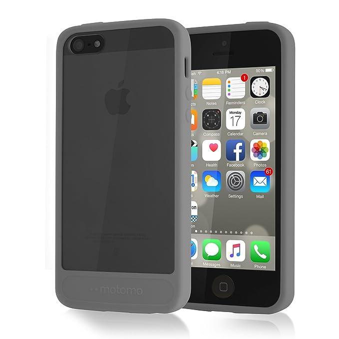 separation shoes ef810 33a72 iPhone 5S Case, MOTOMO [Gray] [Achrome] iPhone 5S Bumper Case ...