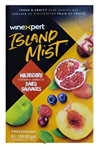 Island Mist White Wildberry Shiraz Wine Kit by Winexpert