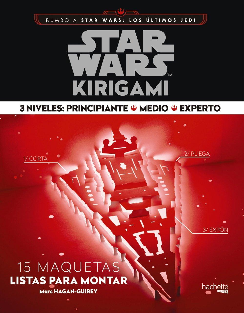 STAR WARS KIRIGAMI (3 NIVELES: PRINCIPIANTE-MEDIO-EXPERTO ...