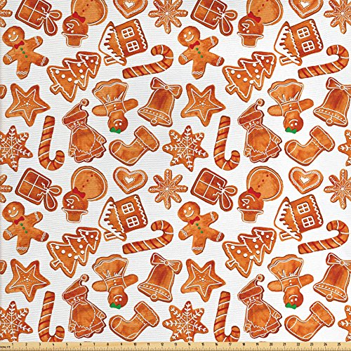 The 7 best gingerbread fabric for 2018