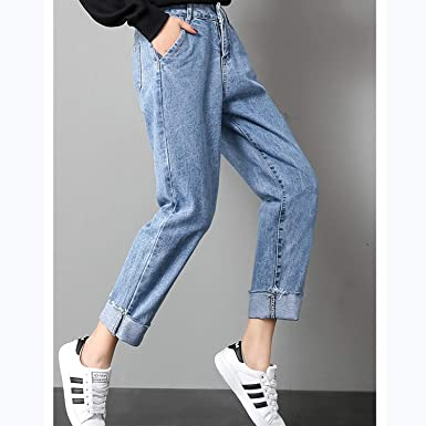 Amazon.com: Autumn Clothes – Pantalones vaqueros para mujer ...