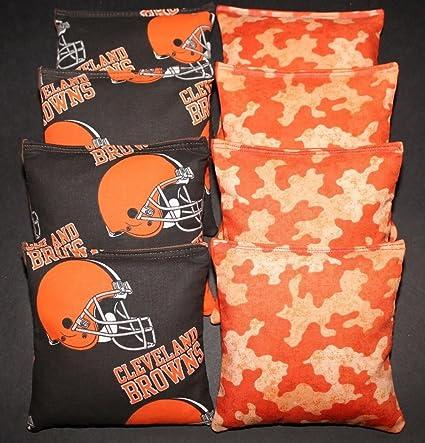 Cleveland Browns Cornhole Bag Toss Wrap Set