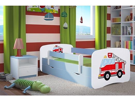 Kocot Kids Kinderbett Jugendbett 70x140 80x160 80x180 Blau Mit