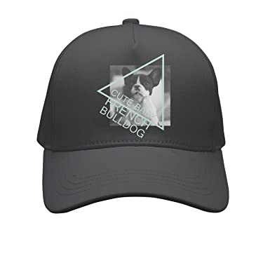 fbd81864f2e Cap Cute Baby French Bulldog Unisex Cap Cute Stylish Casual Simple Funny  Personality Fashion Travel Essential at Amazon Men s Clothing store