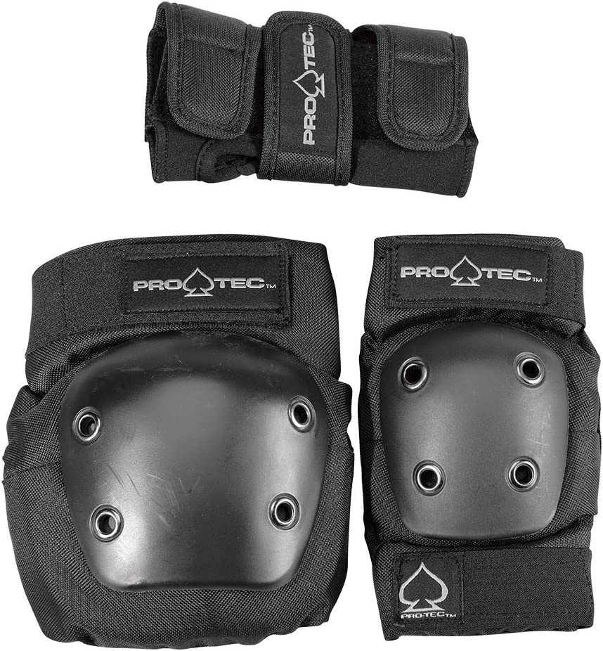 PRO-TEC Skateboard Street Checkerboard Elbow /& Knee Pads Combo Pack