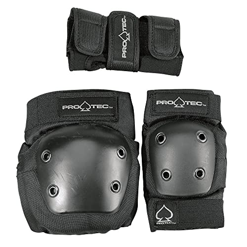 Protec Jr.Combo- Knee, Elbow, Wrist, Safety Skate Pads