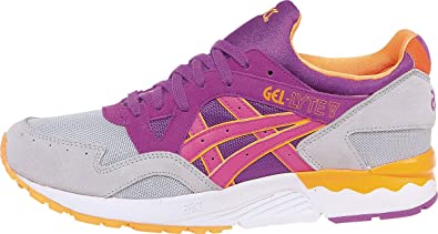 5644366f933b ASICS Tiger Men Gel-Lyte V (Gray Soft Grey Hyacinth Violet)