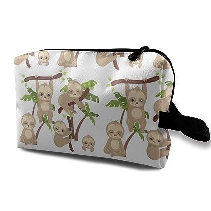 Bolso cosmético para monedero, NR Telas Slothes Are Cute ...