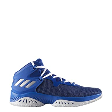 adidas Explosive Bounce Shoe Men s Basketball 5 Collegiate Royal-Silver  Metallic-Blue 46ee3f573