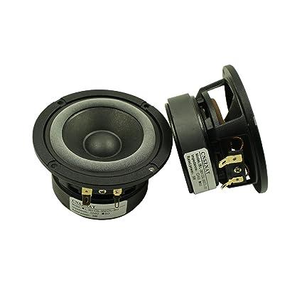 CNSZNAT 3 Inch Hifi Speakers 8 Ohm 12W Full Range For Audiophiles DIY Refit
