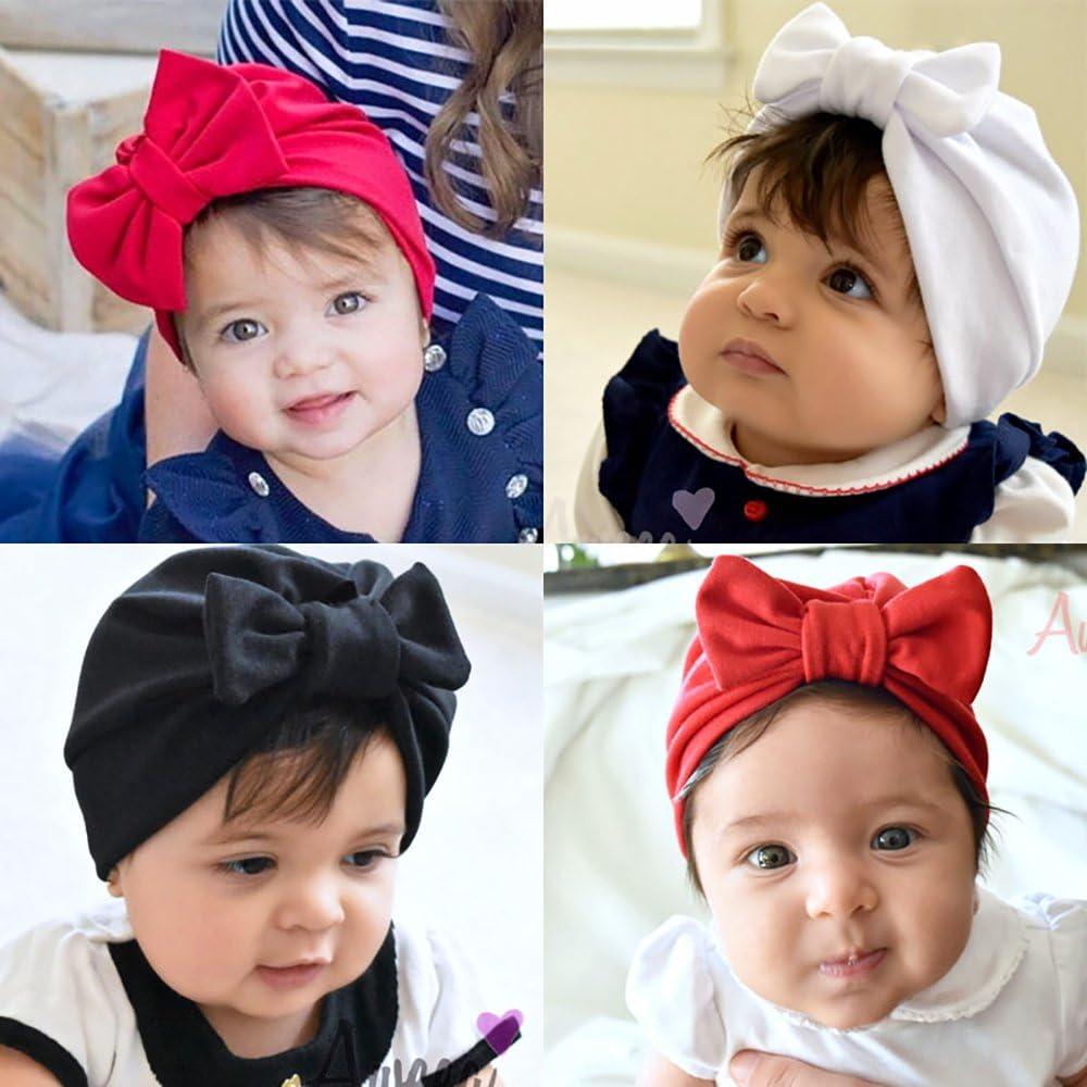 Newin Star Bonnet de Tricot Chapeau Unisexo pour Nouveau-n/é b/éb/é 100/% Coton//Gris