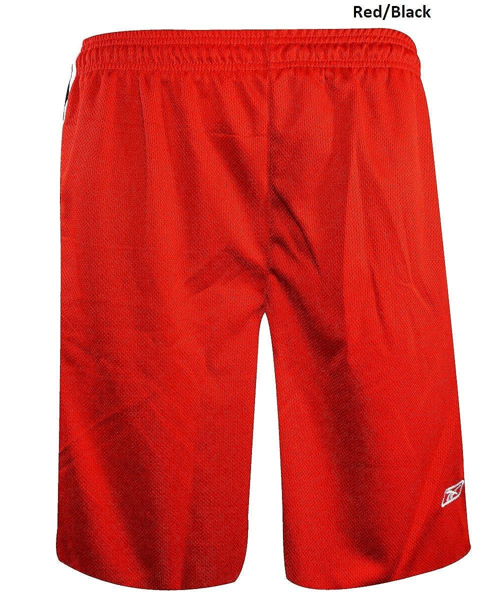 Reebok Men's Two-toned Performance Mesh Shorts RTTAPMS
