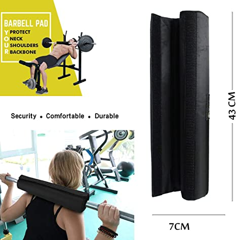 Foam Padded Barbell Squat Pad Weight Lifting Pull Up Neck Shoulder Protect
