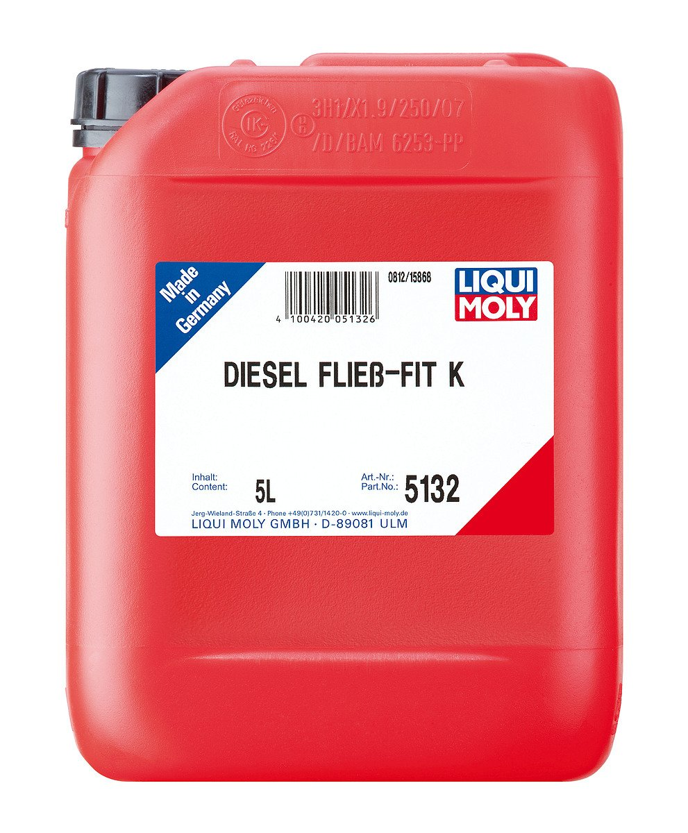 Liqui Moly Diesel fließ -fit Kraftstoffzusatz 5L 5132