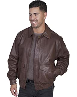 2cc6c1cf2 Scully Men's Premium Lambskin Jacket Chocolate XX-Large at Amazon ...