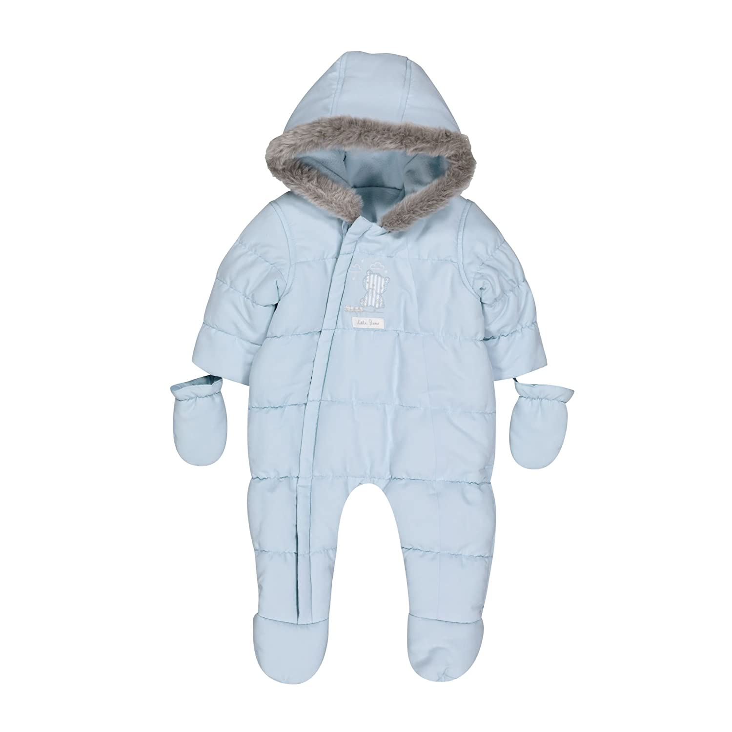 Mothercare Baby Boys' Graphic Snowsuit Fleece QD716