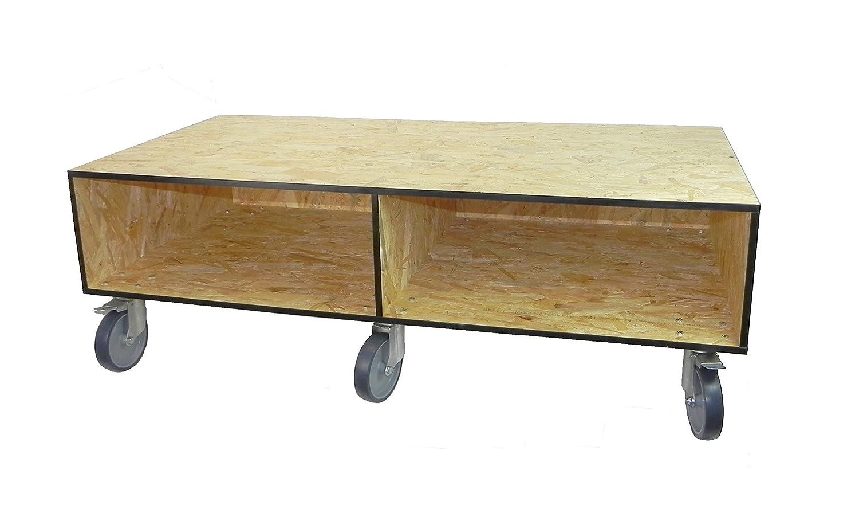TerraBasic Unterschrank, Rollunterschrank 120x60