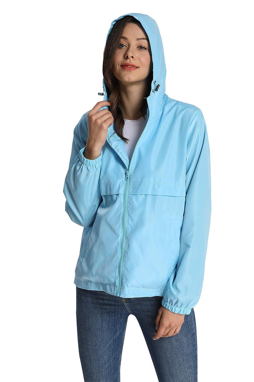 2519ea933c0 iLoveSIA Veste Femme Outdoor Coupe Vent Pluie  Amazon.fr  Vêtements et  accessoires