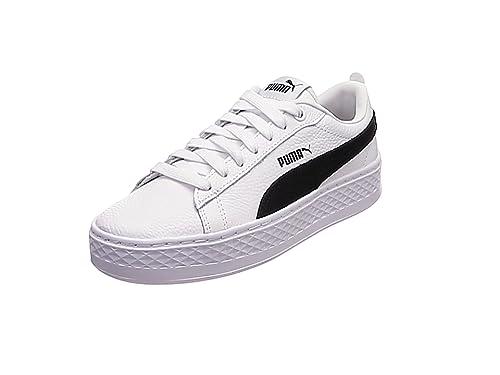 0a26d3597 Puma Women's Smash Platform L Low-Top Sneakers: Amazon.co.uk: Shoes ...