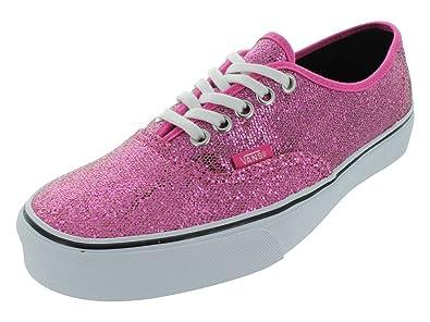 vans glitter rosa